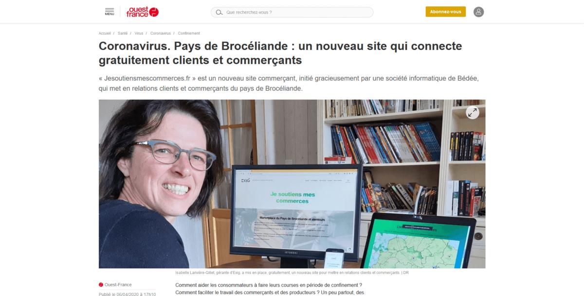 Photo de l'article de Ouest- France